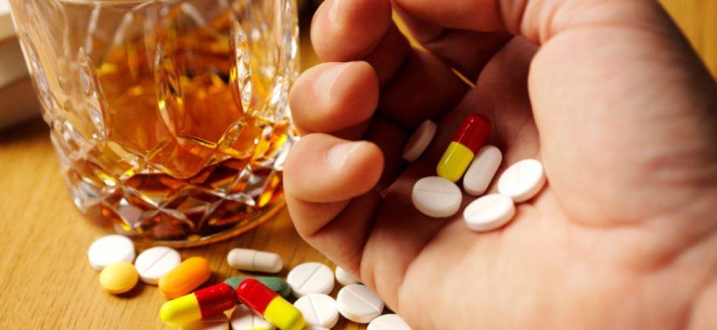 Антидепрессанты с алкоголем