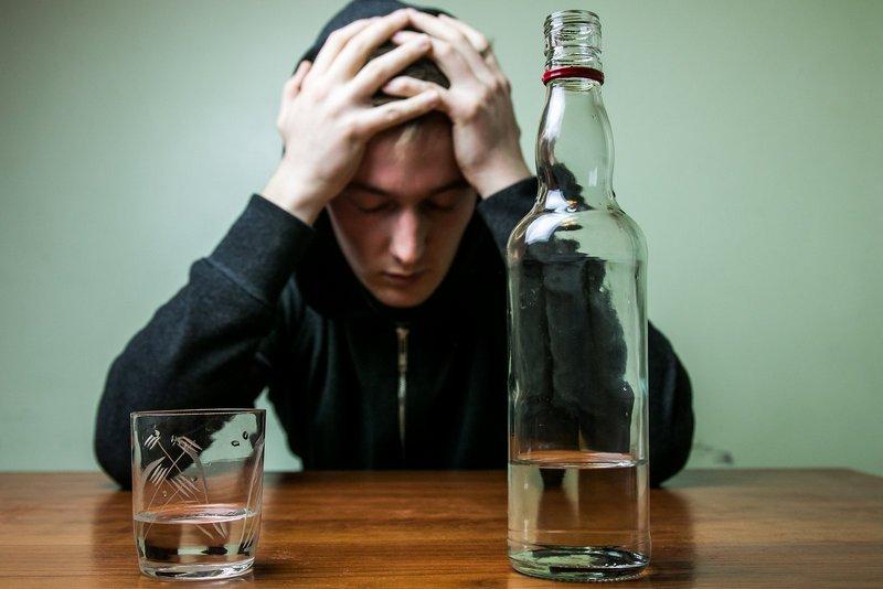 Спиртное при низком давлении