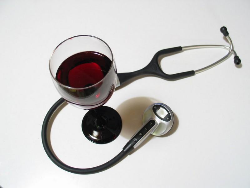 Как красное вино влияет на артериальное давление