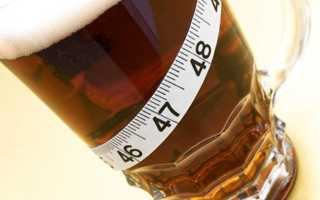 Сколько содержится калорий в пиве и других алкогольных напитках?