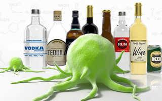 Какое влияние алкоголь оказывает на рак?