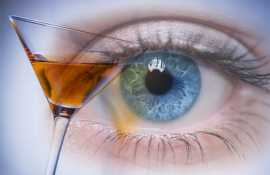 Какие влияние алкоголь оказывает на зрение