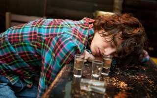 Признаки опасных стадий алкогольного опьянения
