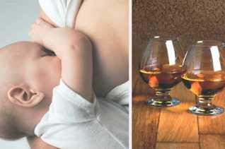 Попадает ли алкоголь в грудное молоко и какую это опасность несет для ребенка?