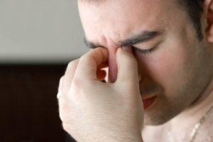 Дискомфорт в глазах