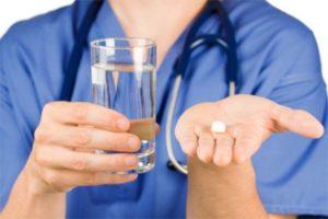 При заболеваниях печени препарат применяется перорально, по 1 таблетке 2 раза в день