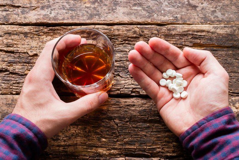 Влияние алкоголя на действие препаратов