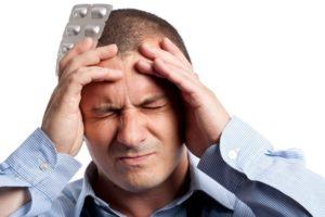 Головные боли - одно из побочных действий препарата