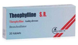 Дисульфирам нельзя сочетать с Теофиллином из за состава